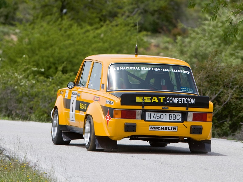 Decals seat 124 gr5 zanini Cañellas Catalunya 1977