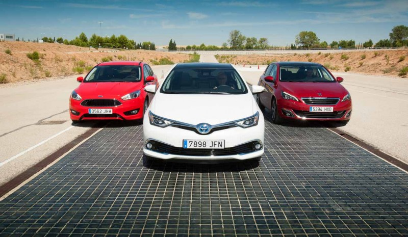 Ford Focus 1 5 Tdci Peugeot 308 And Toyota Auris Hybrid Puretech What Fuel Interest