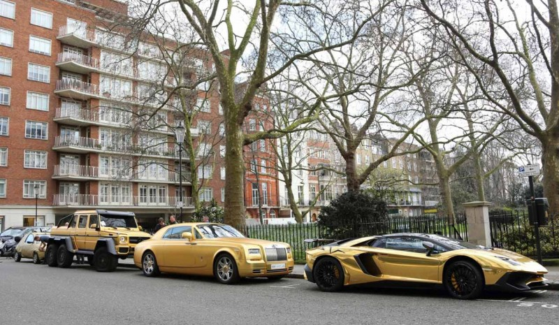 Golden cars billionaire Abdullah bin Turki