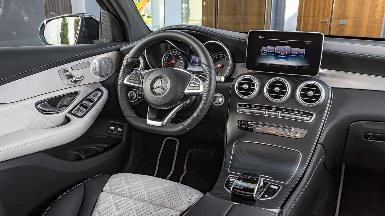 Interni Mercedes GLC Coupe