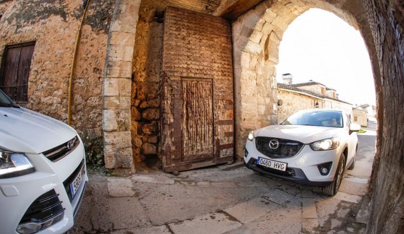 Comparison: Ford Kuga 1.6 4×2 EcoBoost vs Mazda CX-5 2.0 165 2WD