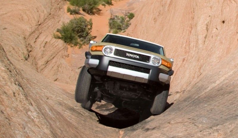 FJ Cruiser, the most extreme and radical 4x4 Toyota.