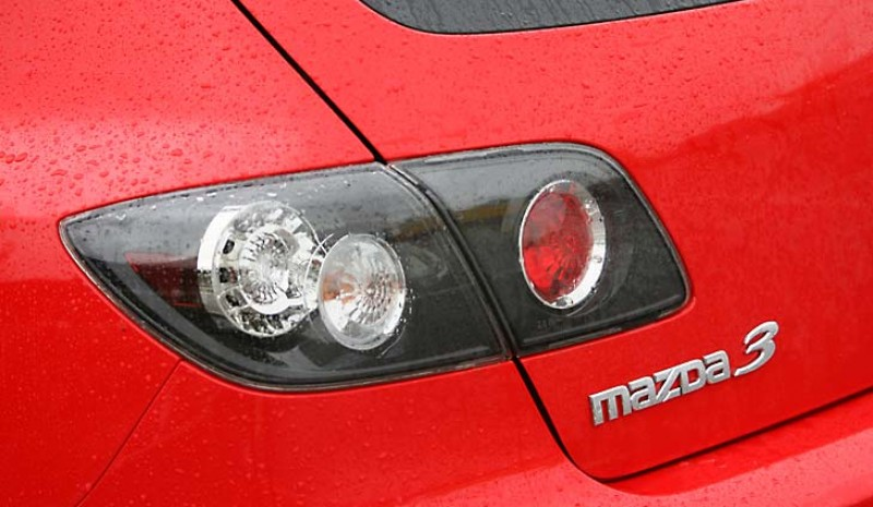 Rear lights have LEDs on the top finish, the Sportive.