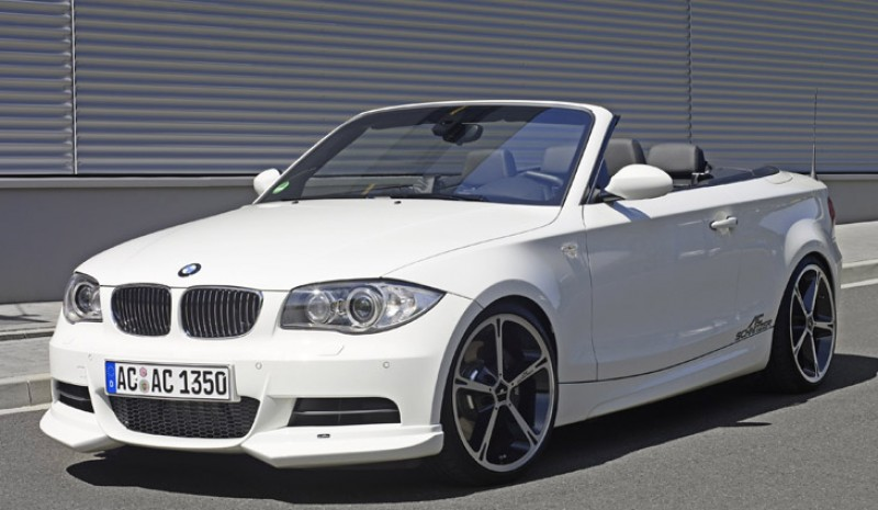 front view BMW 1 Series Convertible ACS1.