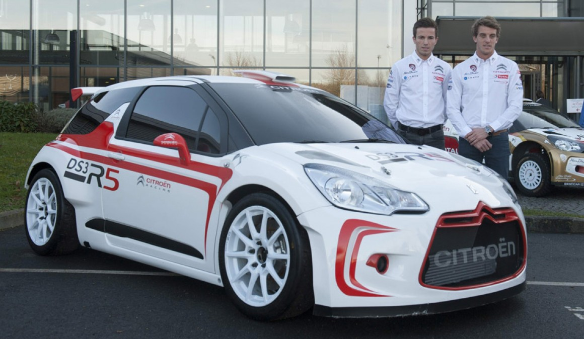 Citroën DS3 R5: finally ready to rally