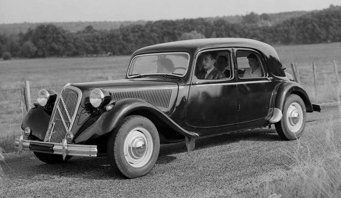 Citroen Traction Avant, quebrando moldes 1934