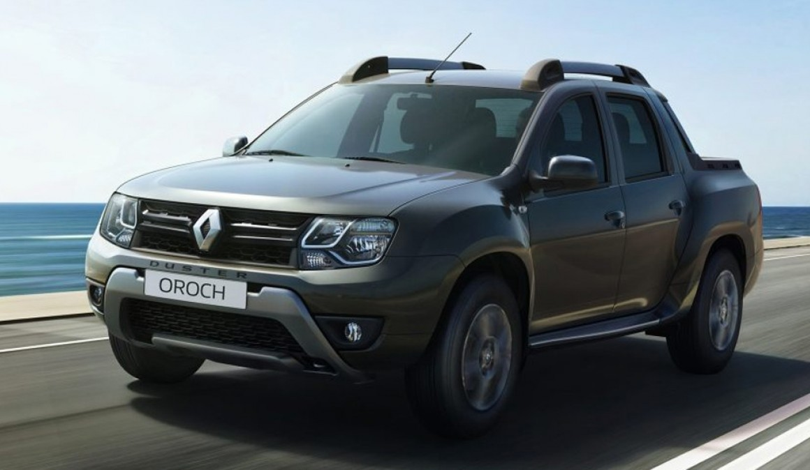 That's the Dacia Duster Oroch, the Duster more beast (video)