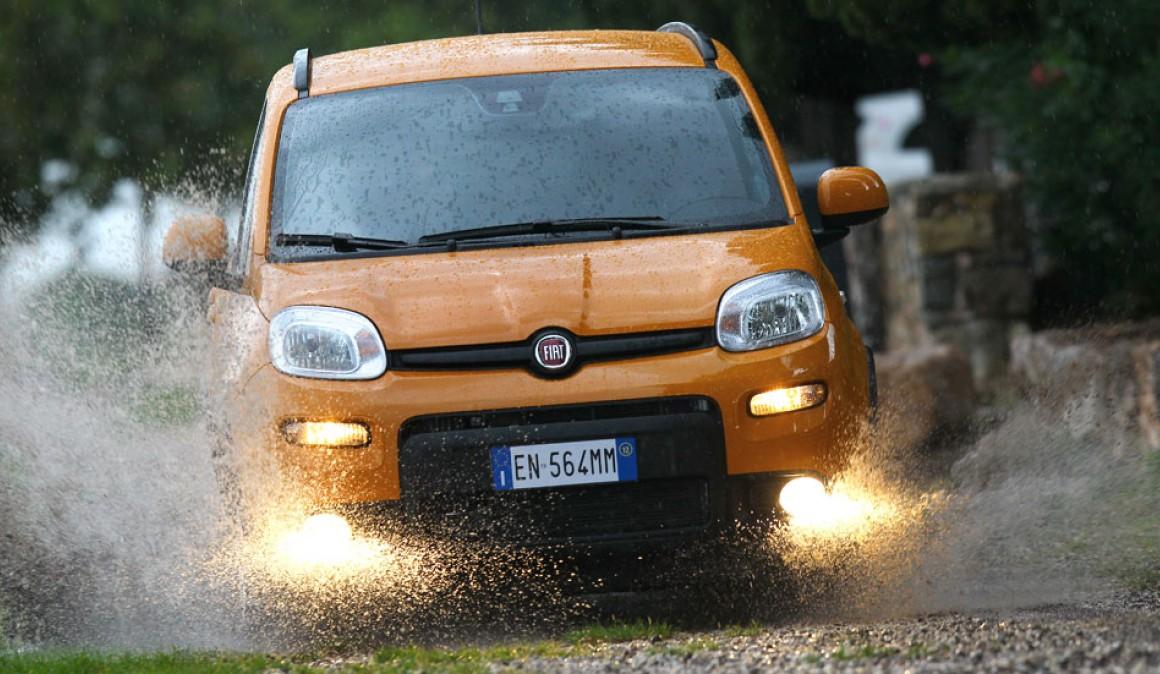 Fiat Panda 4x4 >> Fiat Panda 4x4 Ja Retkeily