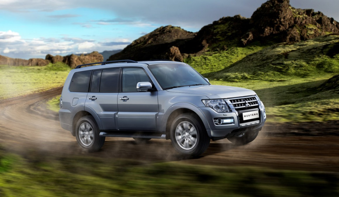 2015 Mitsubishi Montero, design and equipment a day
