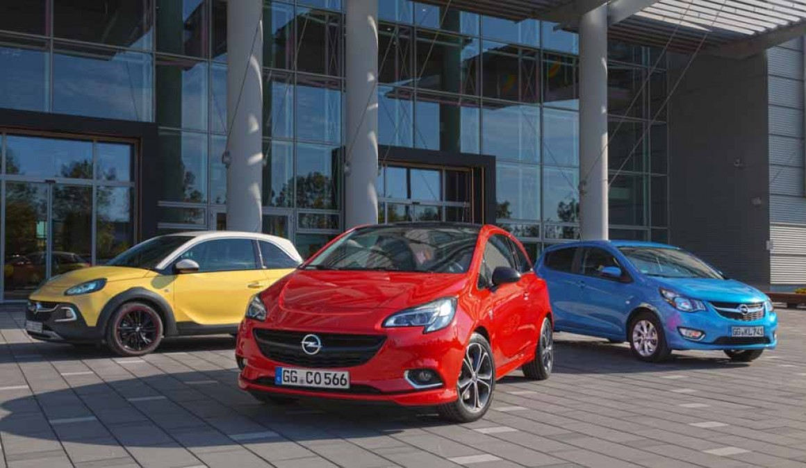 Opel Astra, Corsa, Adam and Karl, with automatic Easytronic 3.0