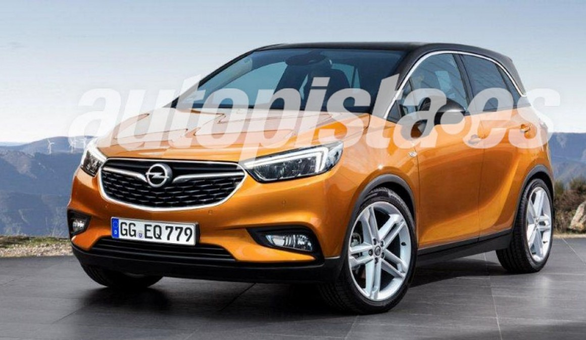 Opel Crossland X: the new SUV substitute for Meriva