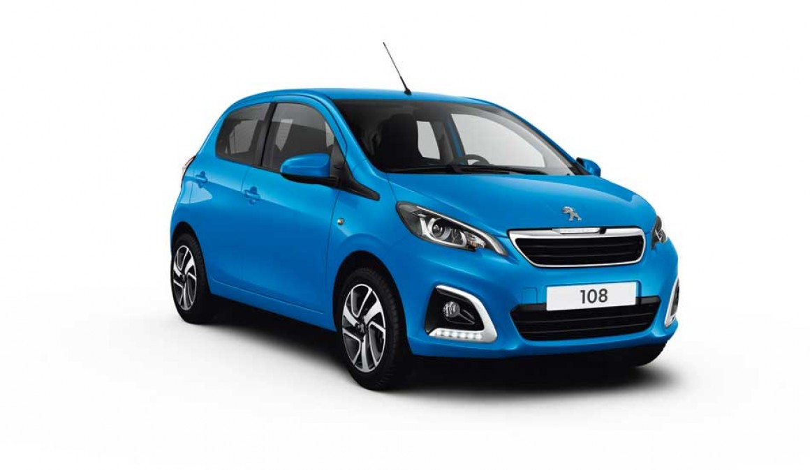 Peugeot 108 Allure, with all the equipment