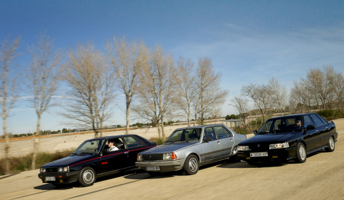 Cars For Remembrance Renault 11 Turbo 18 Turbo And 21 Turbo