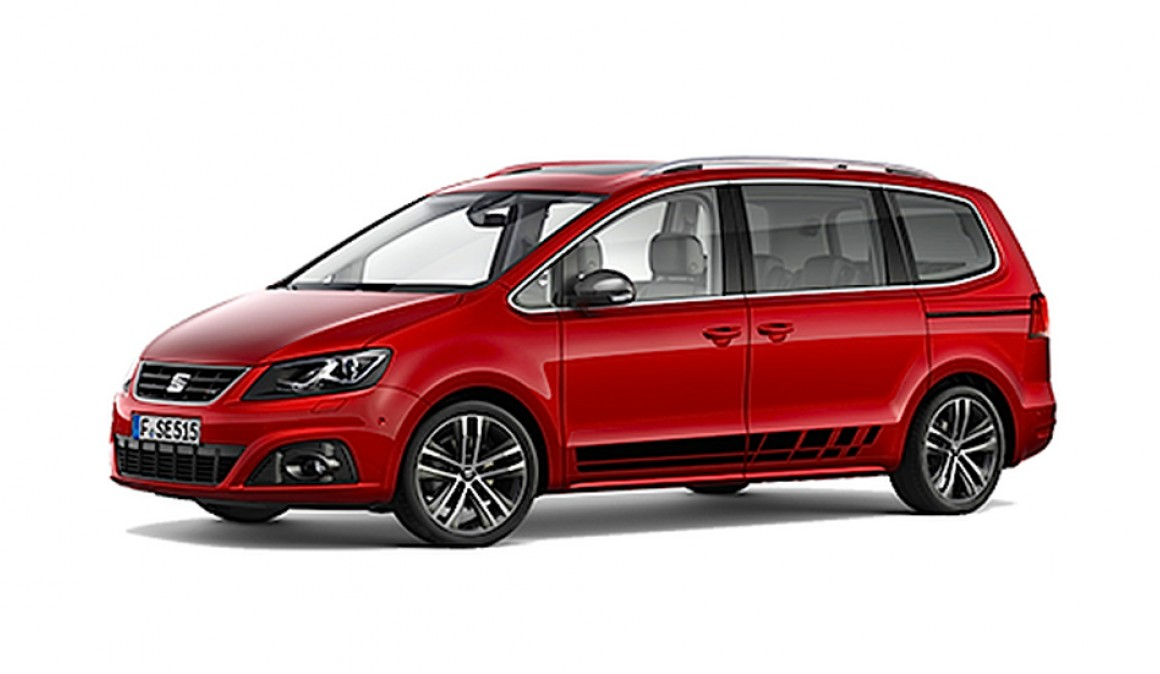 Seat Alhambra FR, more sportiness to the Spanish people carrier