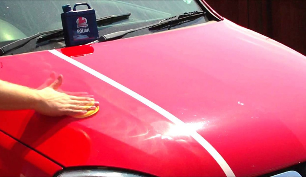 Steps to polish your car paint
