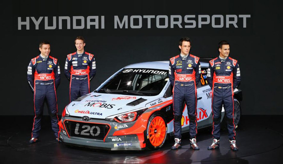 2016 World Rally Championship, following: teams and drivers