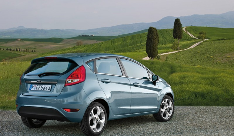 The new Ford Fiesta is offered up to 15 different body colors in both 3 and 5 door.
