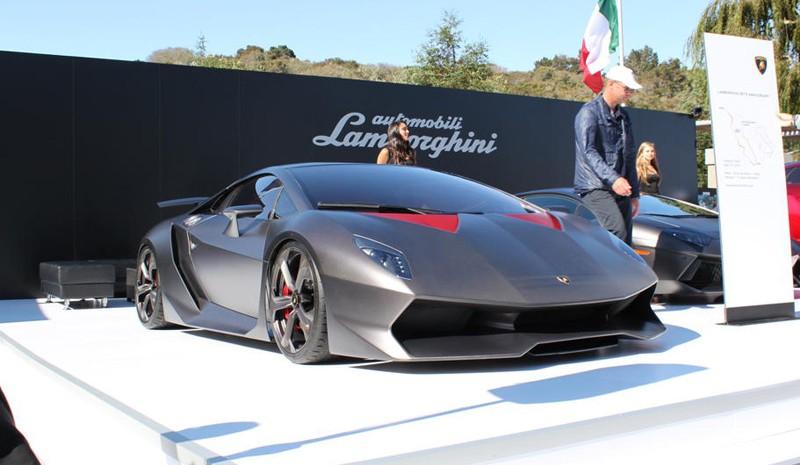 Lamborghini Sesto Elemento Da Un Altro Pianeta