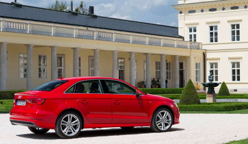 audi a3 sedan les prix pour l 39 espagne partir de 25 450 euros. Black Bedroom Furniture Sets. Home Design Ideas