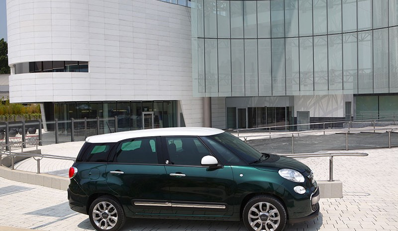 Fiat 500L Living and 500L Trekking