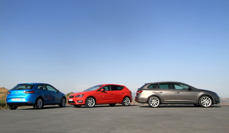 Seat Leon ST, so is the family
