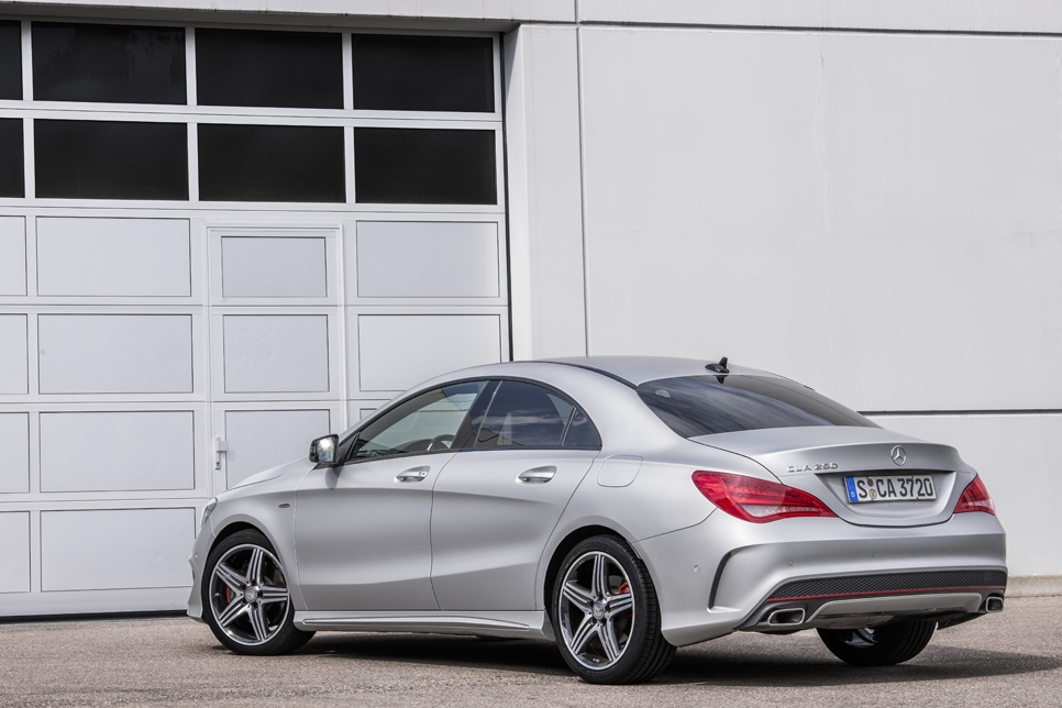 Mercedes CLA 250 and CLA 45 AMG Sport Racing Series