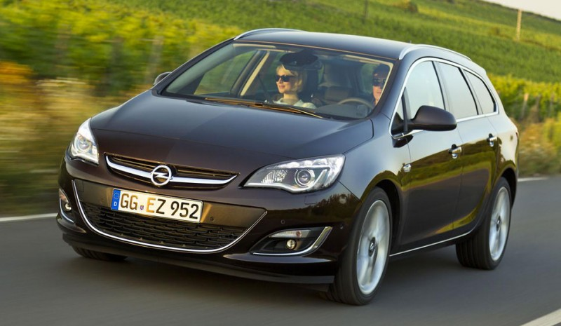Nouvelle Opel Astra 2014
