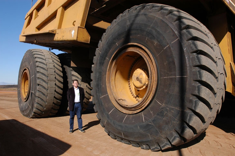 Biggest tire