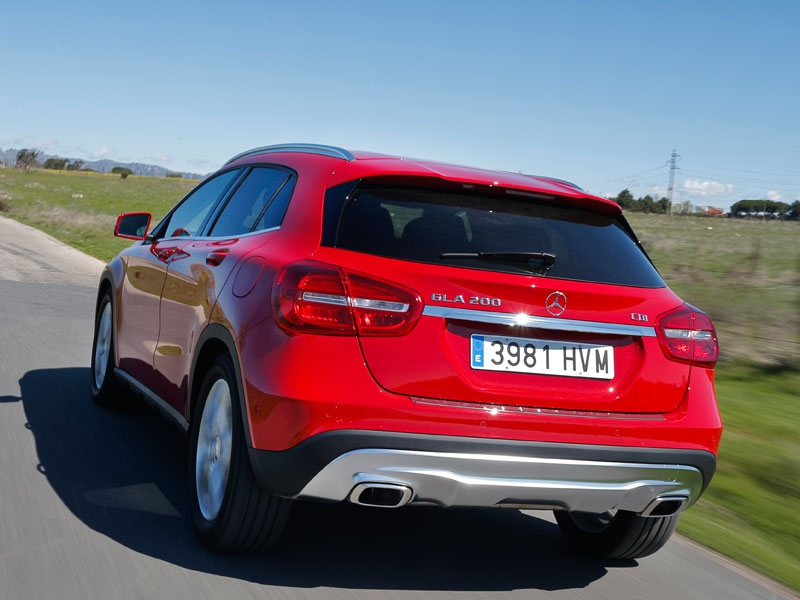 Test: Mercedes 200CDI GLA 7G-DCT, forget conventional