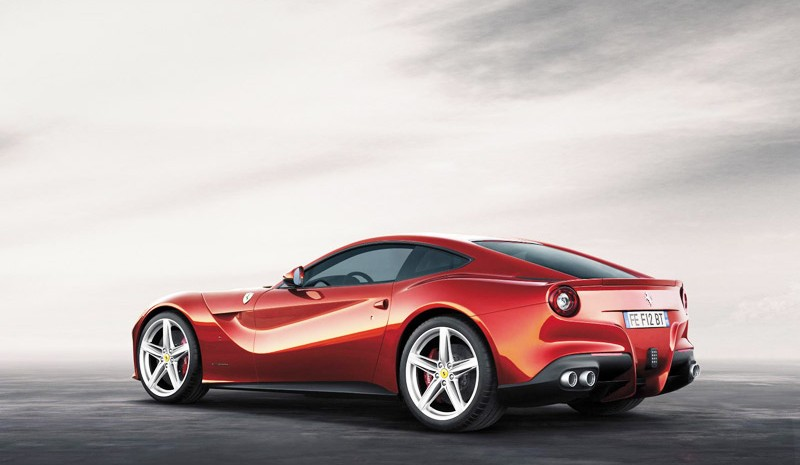 Ferrari F12 TRS, the Ferrari of 3 million euros