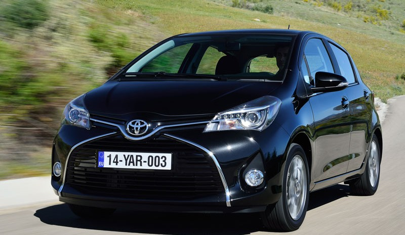 Contact: Toyota Yaris 2015, present company