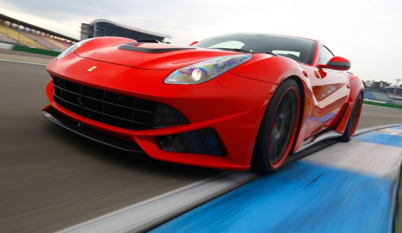 Contact: Novitec Ferrari F12 N-Largo, crack of sports