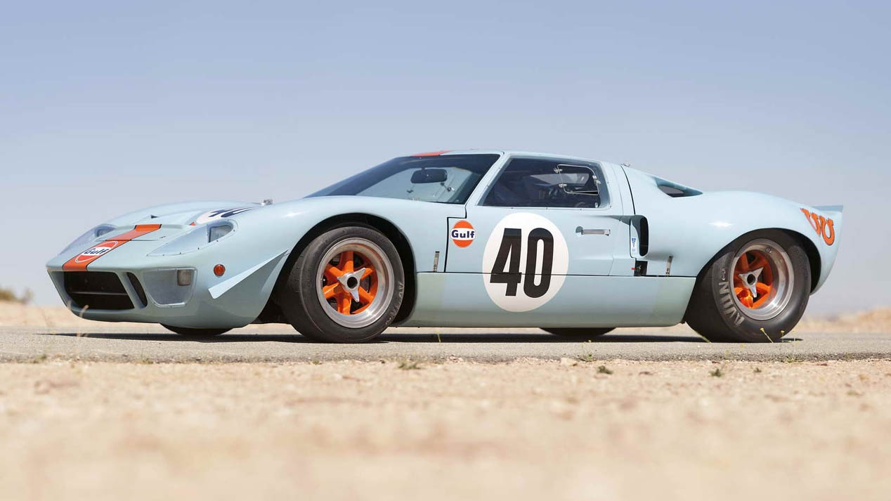 Ford GT40 Gulf Le Mans