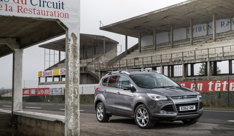 Ford Kuga 2015, plus efficace et technologique