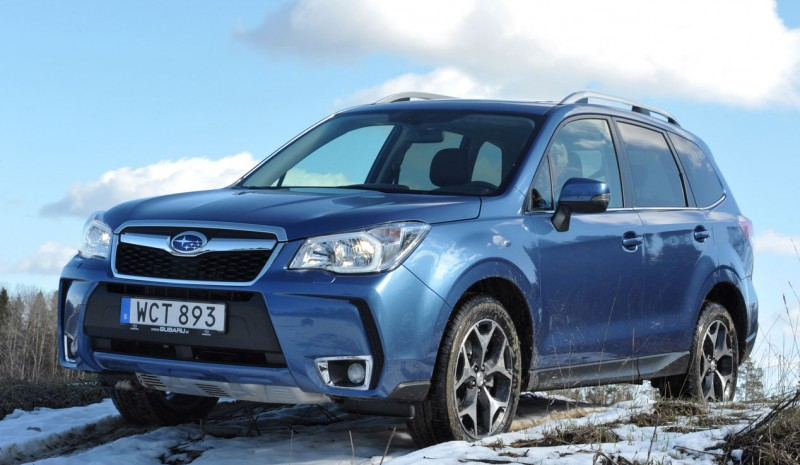 Contact: Subaru Forester 2015, more and better
