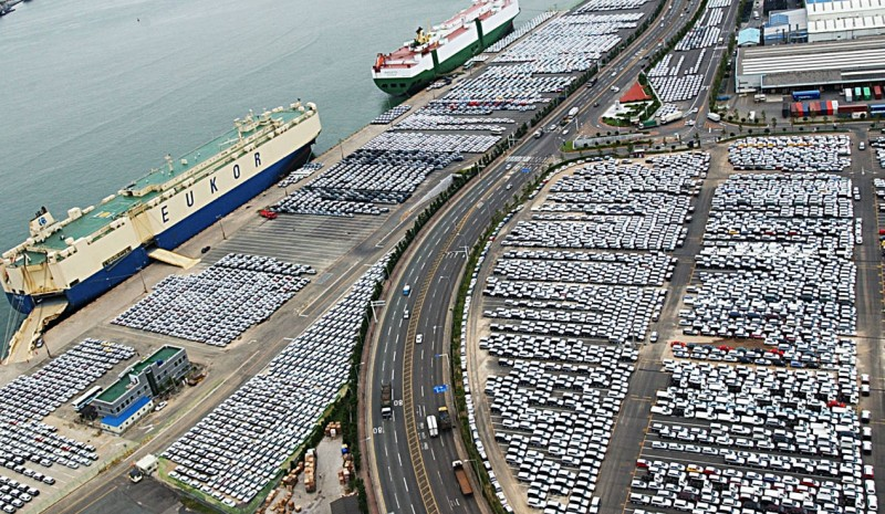 What are the three largest car factories in the world?