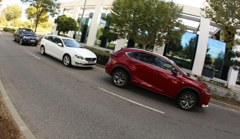 Nice ... Comparação: Audi Q5 Híbrido Lexus NX 300h U0026 U0026 V60 Plug In Hybrid
