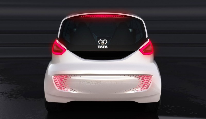 Tata Megapixel Concept, extended-range electric