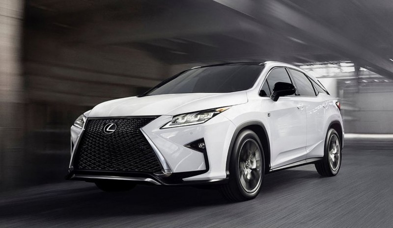Lexus RX, and is the fourth generation