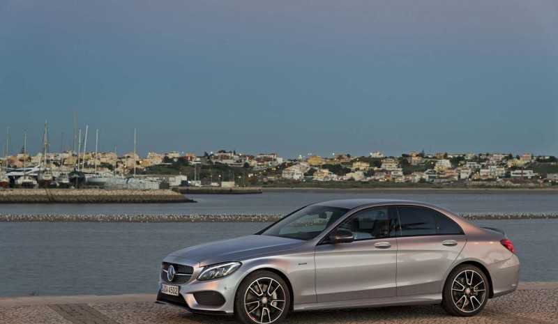 Mercedes C Class 2015, new engines