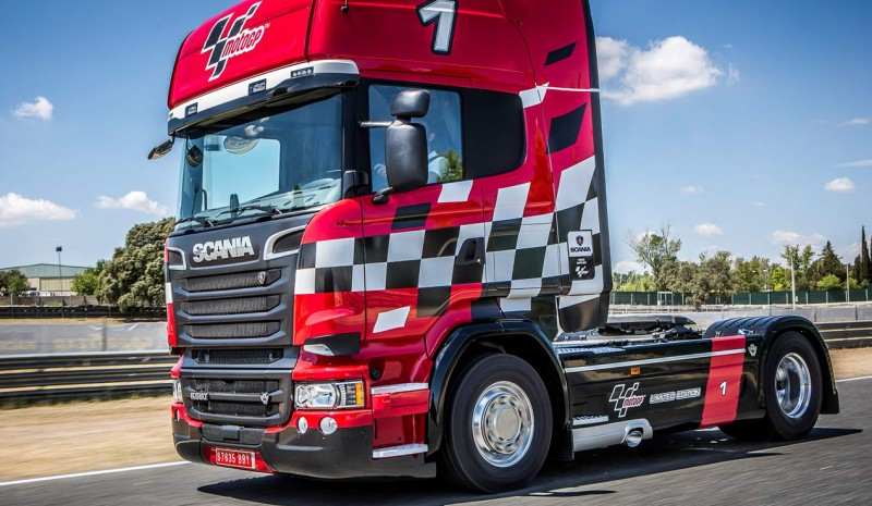 Scania presenterar sin V8 MotoGP Limited Edition