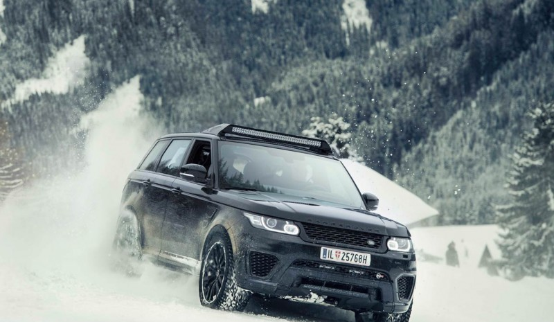 Bilar Jaguar-Land Rover i James Bond'Spectre'