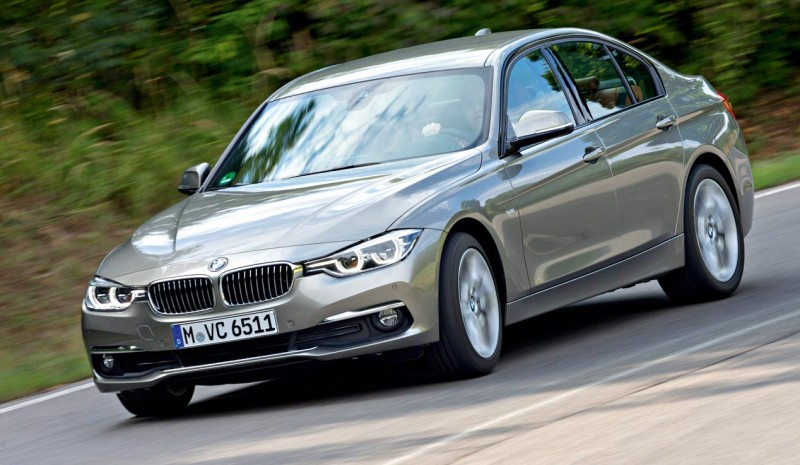 BMW 3 Series و أودي A4، واجه