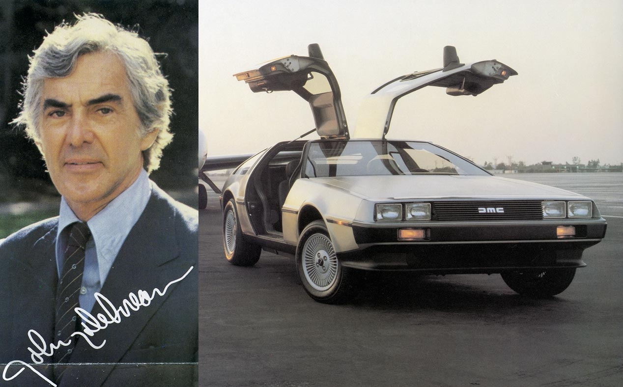 DeLorean DMC-12 og dens skaber