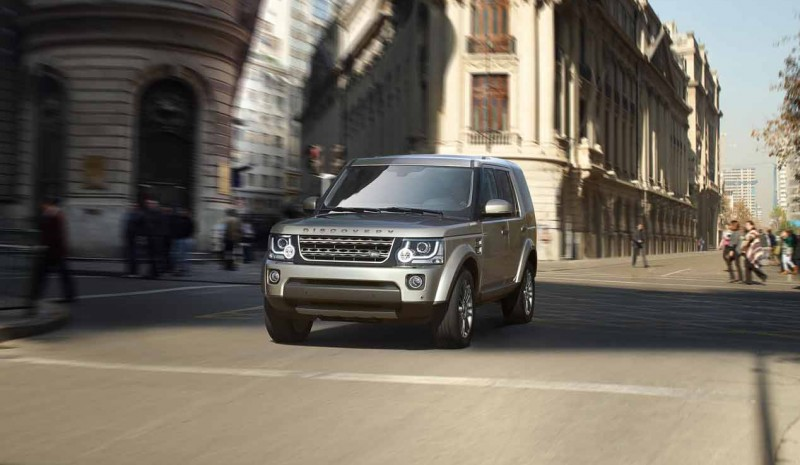 Land Rover Discovery 4 graphite
