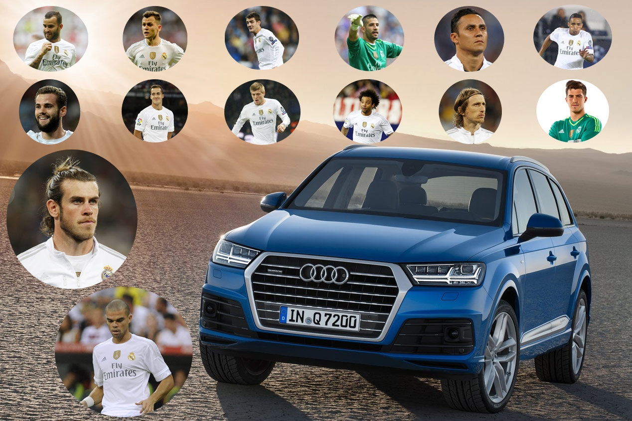 Audi sjabloon Real Madrid 2015