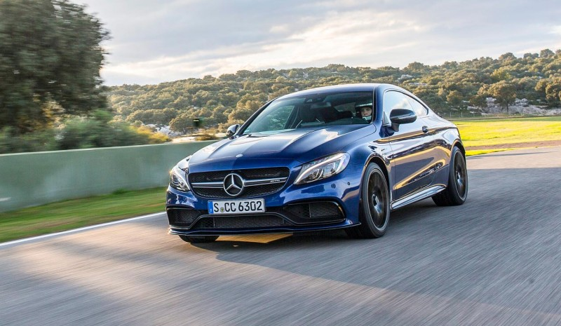 AMG Mercedes C-Class Coupe, 476 hp fun