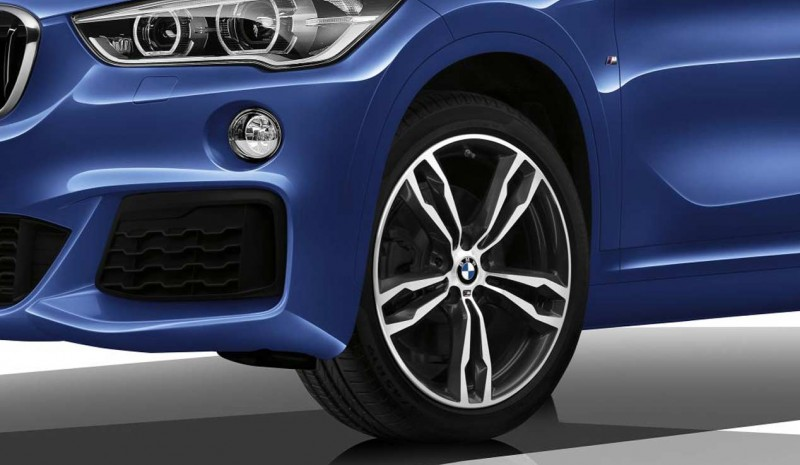 BMW X1 M Sport, the photos of this sports version