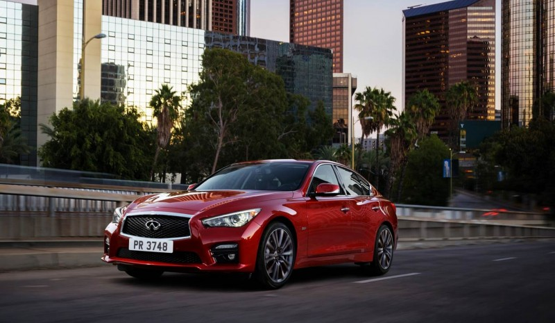 Infiniti Q50 2016, first facelift