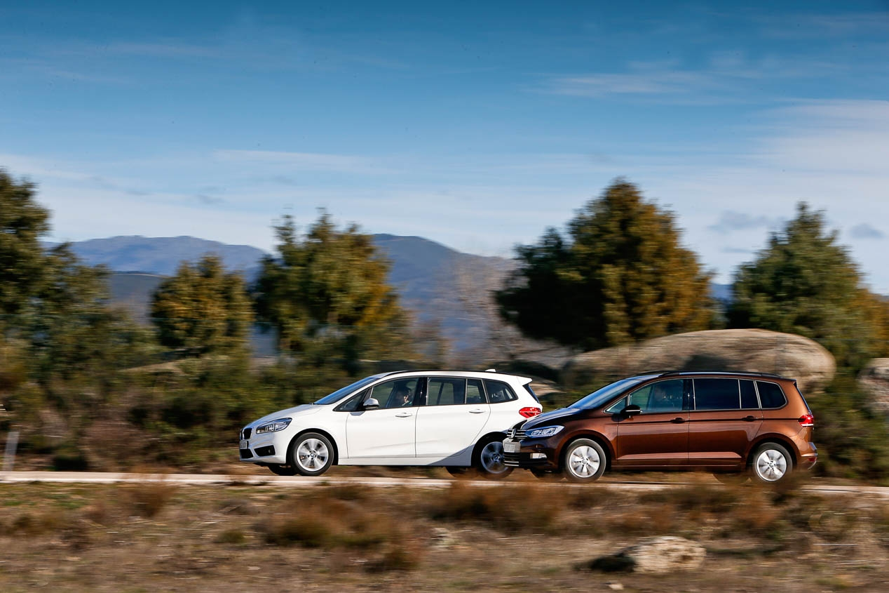 BMW 216D Gran Tourer vs Volkswagen Touran